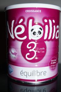 lait de croissance Nébilia