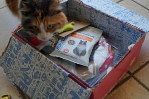 Eavy très joyeuse de découvrir sa box
