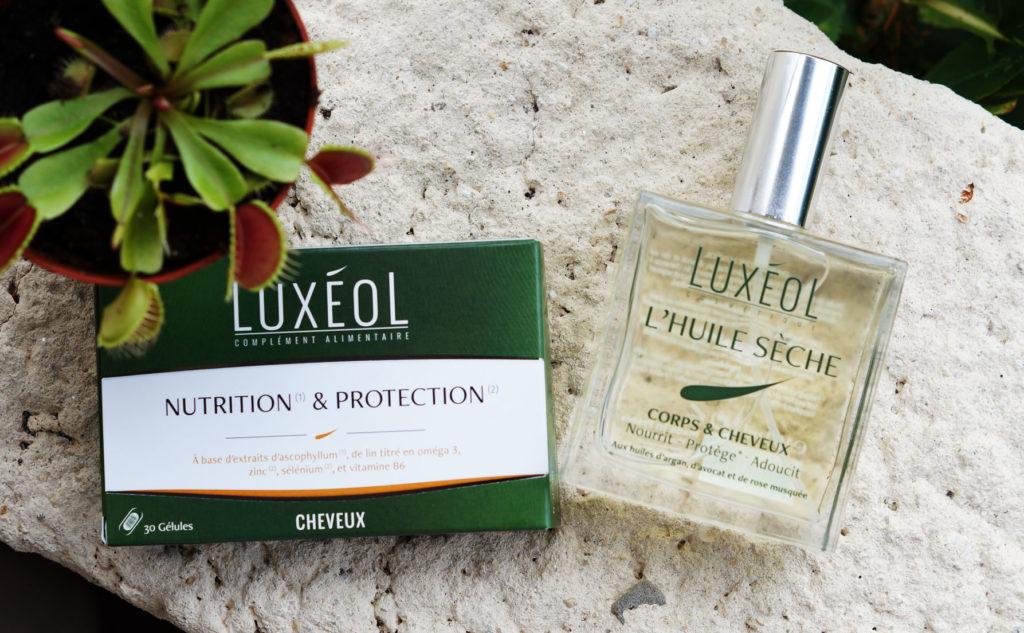 nutrition et protection, huile sèche Luxéol