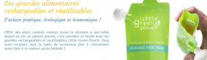Gourde rechargeable
