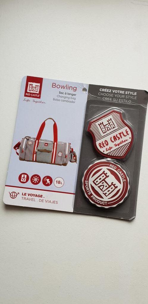sac à langer bowling de red castle