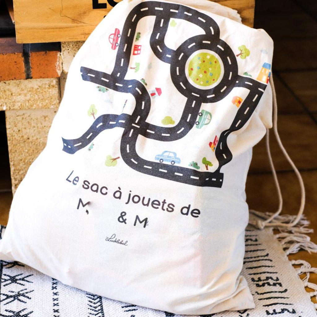 sac à jouets Ludilabel