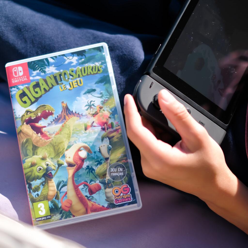 idées cadeaux Gigantosaurus Nintendo Switch