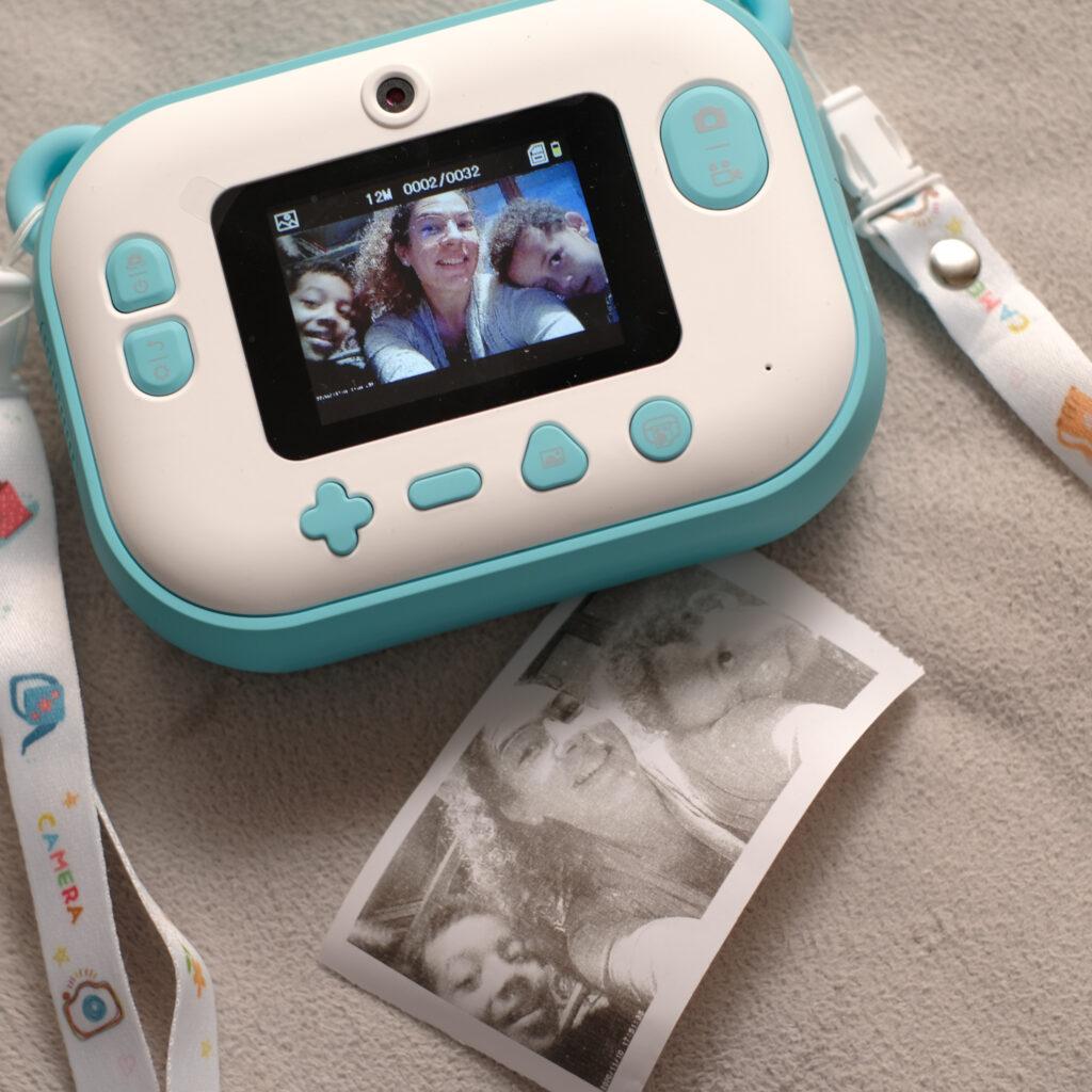 idées cadeaux appareil photo enfant instantané Teddycam