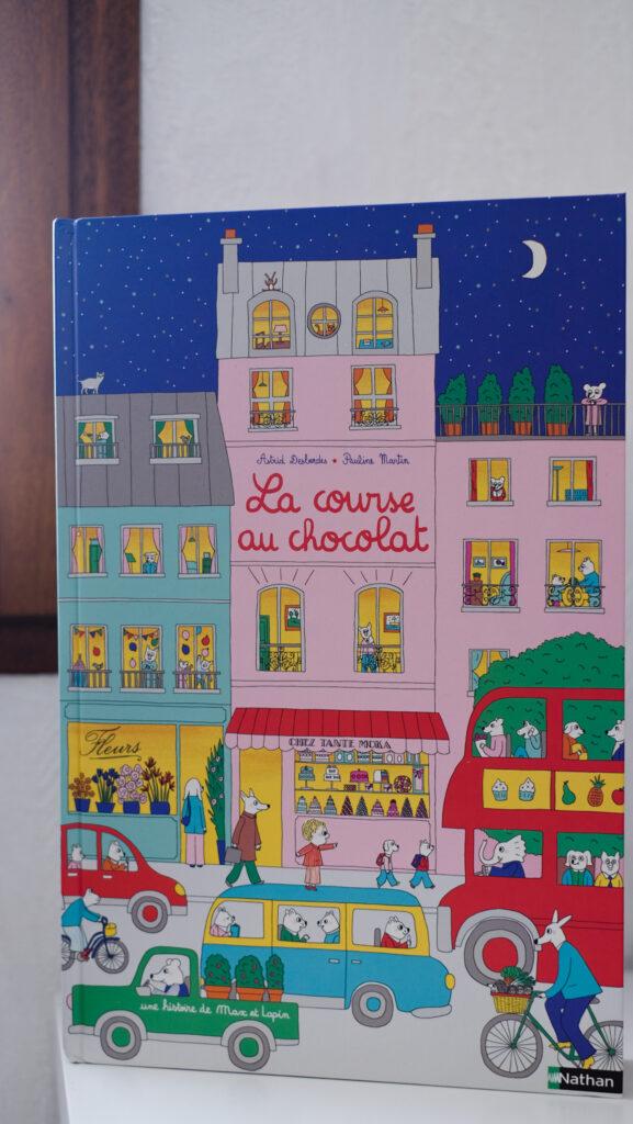 idées cadeaux La course au chocolat NATHAN