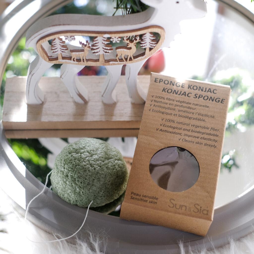 Eponge de Konjac, Box Belle au naturel