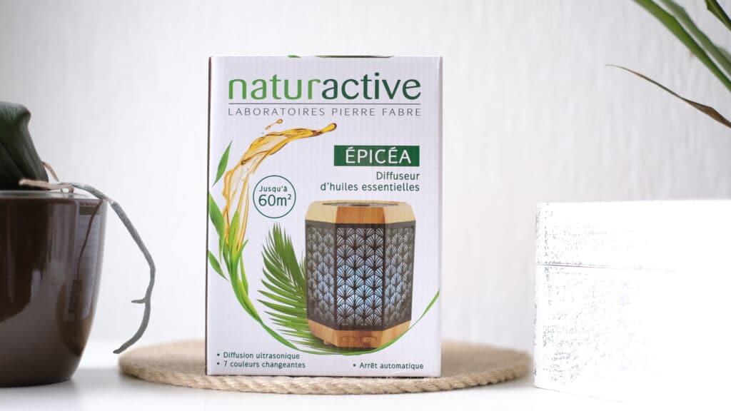 Le diffuseur d'huiles essentielles Naturactive