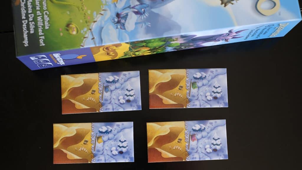 jeu DRAGOMINO de blue orange