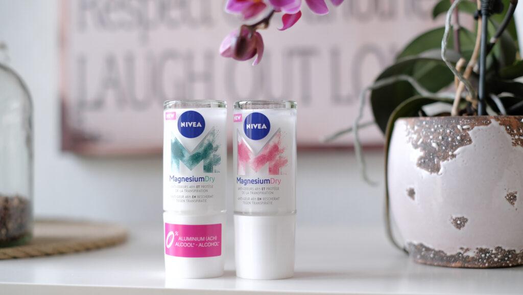 nouveaux déodorants nivea magnésiumdry