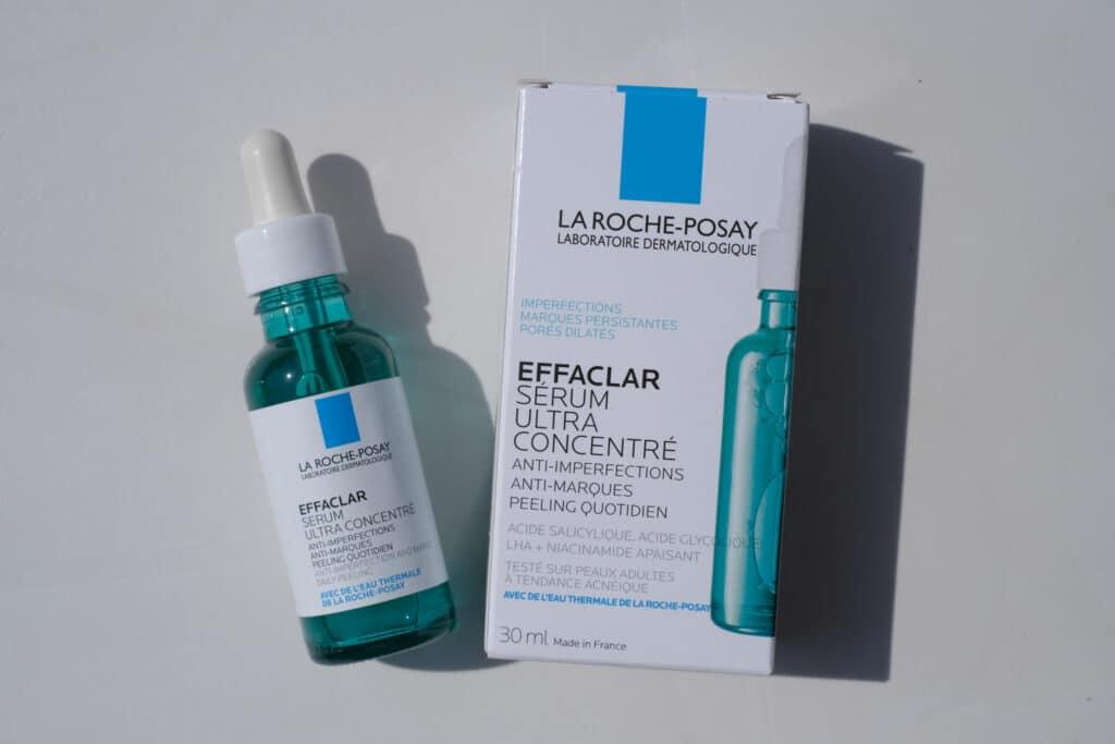 avis sur la gamme EFFACLAR de La Roche-Posay