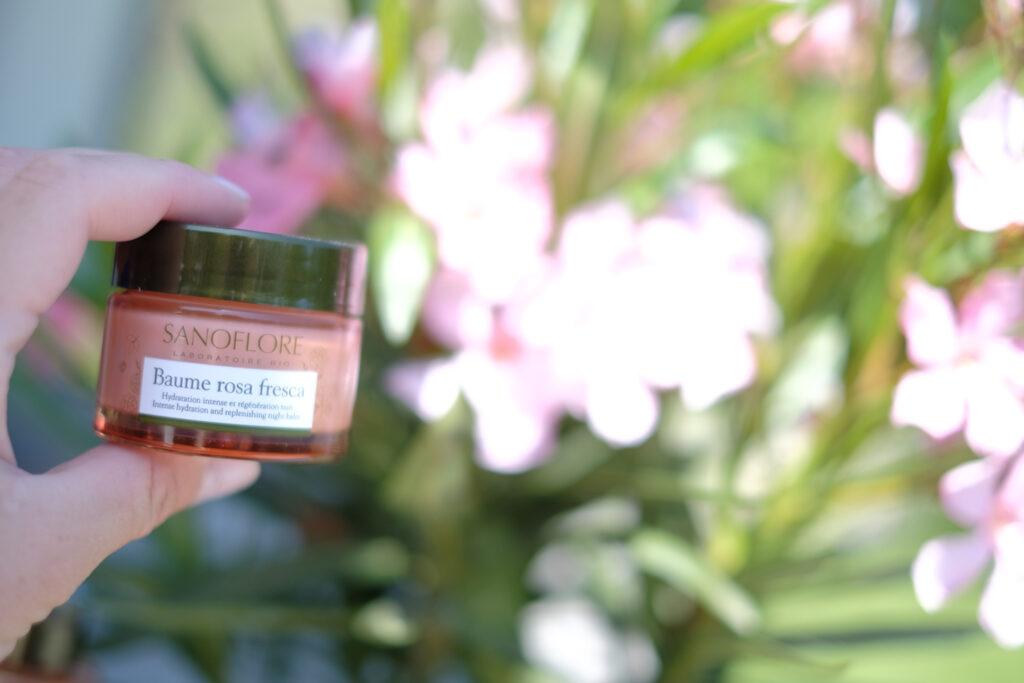 avis sanoflore baume rosa fresca